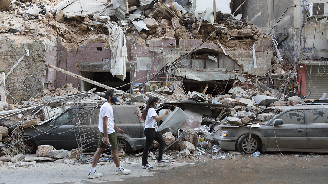 Beirut recovery efforts