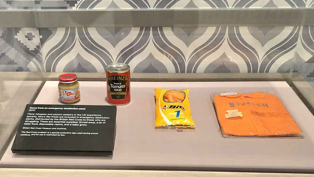 Destitution pack from Forced to Flee exhibition