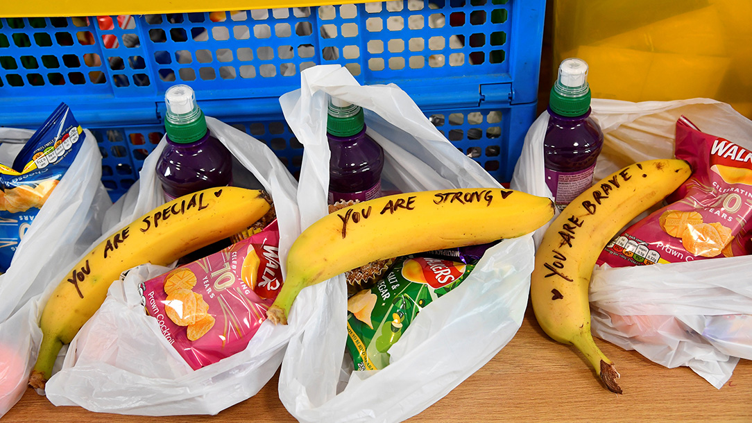 Go bananas with a message of kindness