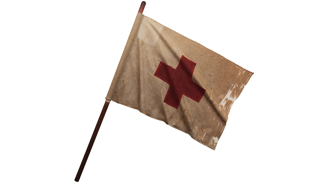 Red Cross flag from 1870